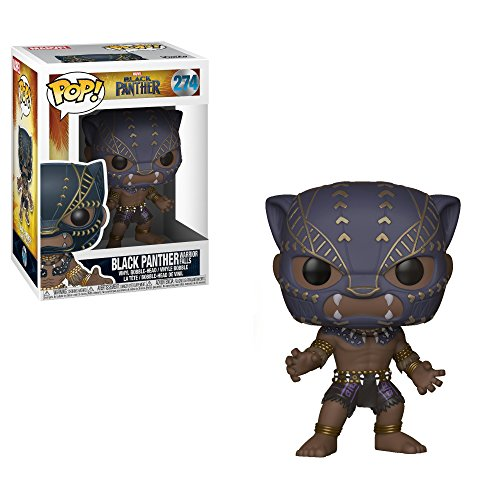 Funko POP! Marvel: Black Panther Movie – Black Panther (Warrior Falls) Collectible Figure