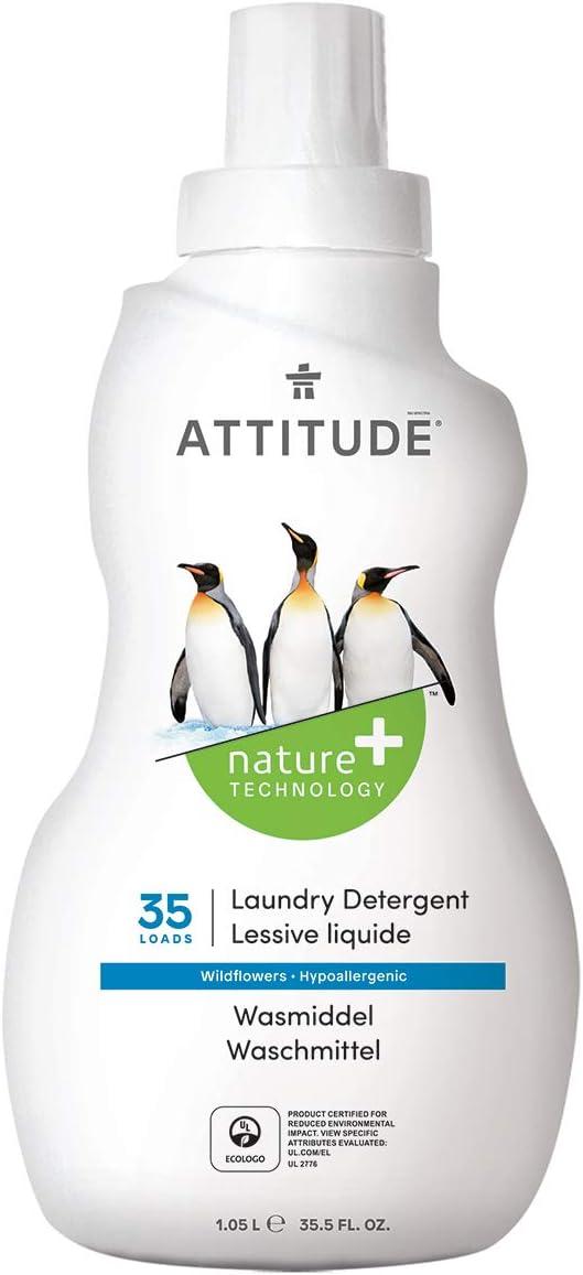 Attitude ATLCO - Detergente líquido lavadora concentrado, 35 dosis ...
