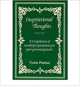 Inspirational Thoughts V. 2