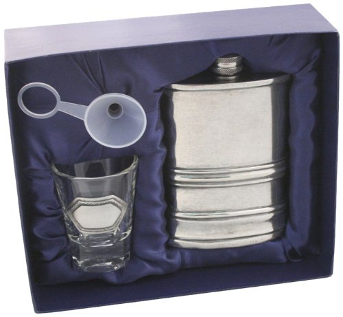 Visol Yorkshire Pewter Flask Gift product image