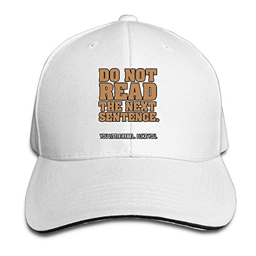 Arizona White Sport Hat (Do Not Read The Next Sentence Unisex Adjustable Baseball Cap Cool Sports Hats)