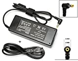 90W Ac Adapter Laptop Charger for Toshiba Satellite C655 C655D C675 C850 C855 C855D C875 C50 C55 C55D C55DT C55T C75 C75D L50 L55 L55D L75 L305 ; PA3714U-1ACA PA5035U-1ACA PA3917U-1ACA Power Cord