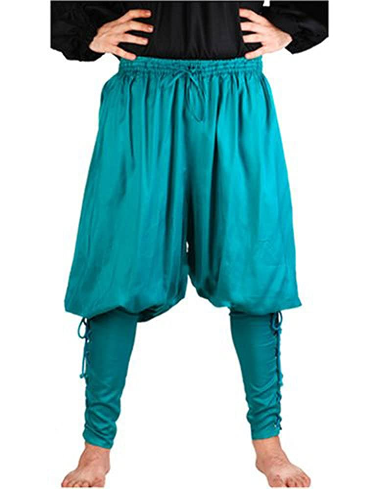 Pirate Captain Cottuy Hunter Green Pirate Pants Costume