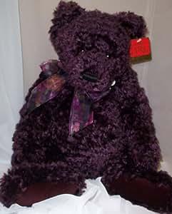 Mohair Gund Bear Plum Pudding #9537