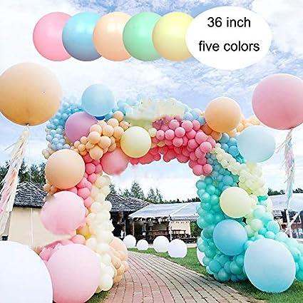 "Choose Size 10/""//12/""//18/""//36/"" Inch CLEAR LATEX BALLOON Wedding//Anniversary Decor"