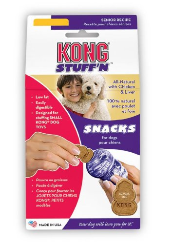 KONG Stuff'N Snacks, Senior, 11-Ounce, Large, My Pet Supplies