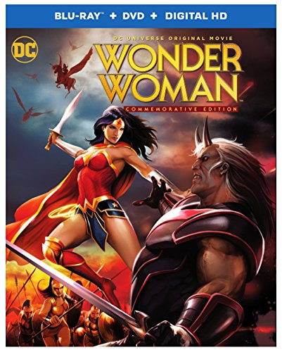 Blu-ray : DCU: Wonder Woman - Commemorative Edition MFV (With DVD, Ultraviolet Digital Copy, Digitally Mastered in HD, 2 Pack, Dolby)