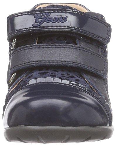 Geox B Kaytan - Zapatillas de deporte para bebés niñas Dk Navy