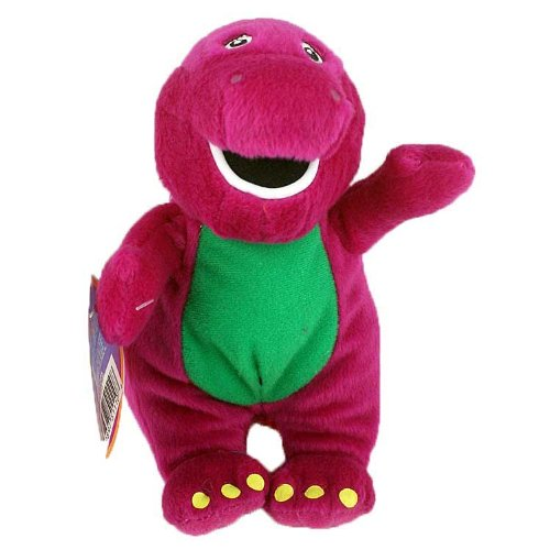 Amazon Com Barney 8 Barney Plush Doll Toys Games