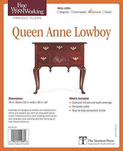 - Fine Woodworking's Queen Anne Lowboy Plan: Advanced (Fine Woodworking Project Plans)