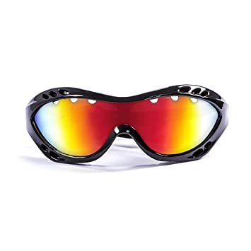 Ocean Sunglasses Costa rica - gafas de sol polarizadas - Montura : Negro Brillante - Lentes