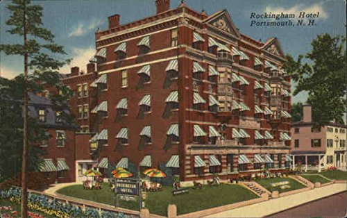 (Rockingham Hotel Portsmouth, New Hampshire Original Vintage Postcard)