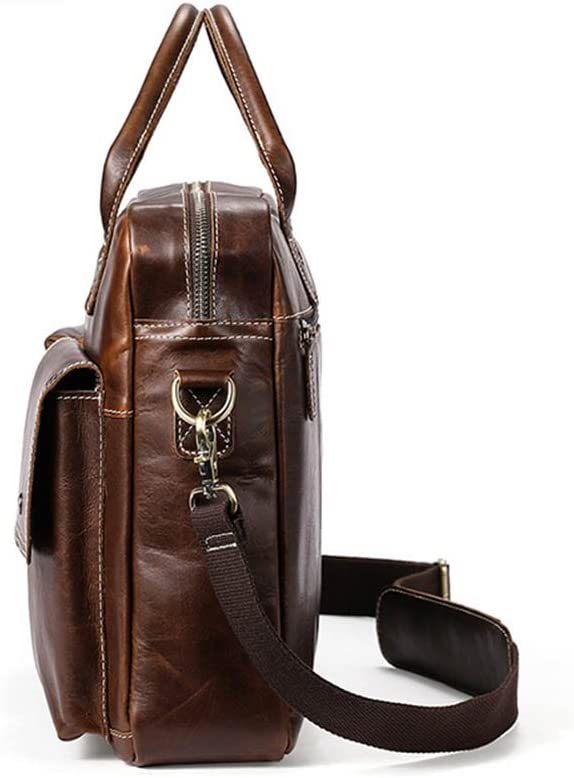 Multi-Color Optional Color : Yellow LBYMYB Mens Handbag Shoulder Messenger Bag Mens Bag Business Briefcase 39x30x9cm Business Briefcase