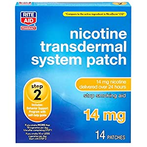 Rite-Aid-Nicotine-Transdermal-System-Patch-Step-2-14-mg-14-Count-Quit-Smoking-Patches