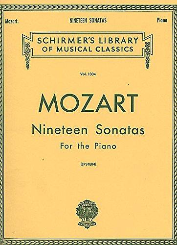 MOZART - Sonatas Completas para Piano (Epstein)