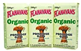 FLAHAVAN'S Organic Porridge Oats, 17 Ounce (Pack of 3)
