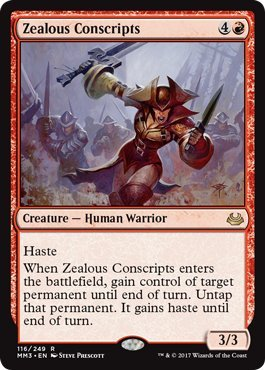 Zealous Conscripts   Modern Masters 2017