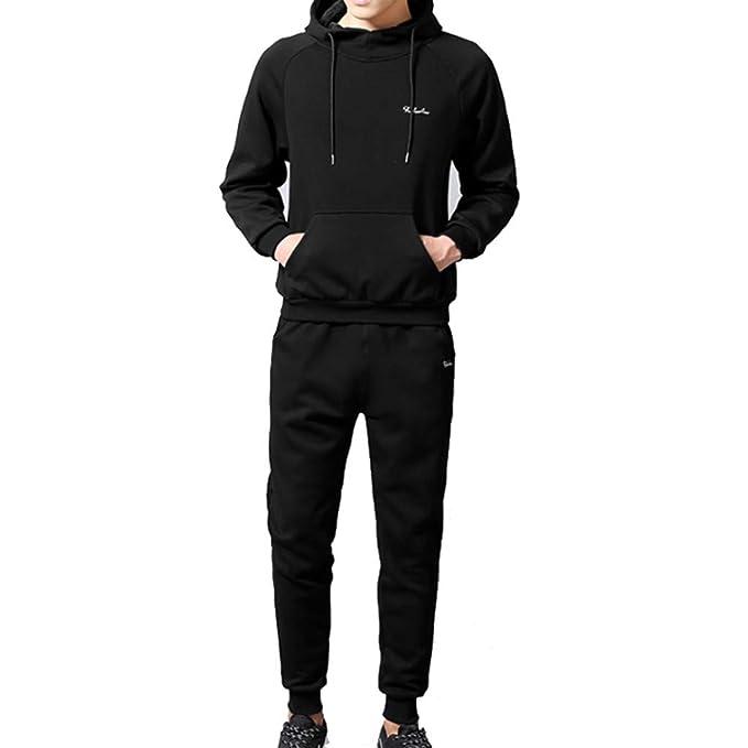 Amazon.com: Pocciol – Conjunto de ropa deportiva para hombre ...