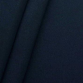 STOFFKONTOR 100% Baumwolle Köper Stoff Meterware Nacht-Blau  Amazon ... a16e2dd28a