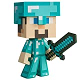 "Minecraft Diamond Steve Vinyl 6"" Diamond Edition Figure"