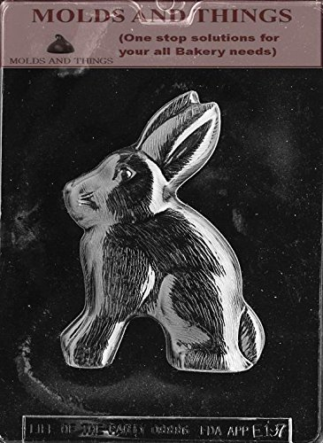 RABBIT FOR SPECIALTY BOX Easter Chocolate candy mold With Co