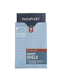 Lewis N Clark 1207 Luggage Rfid Passport Shield, White, One Size