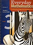 Everyday Mathematics: Teacher's Lesson Guide, Grade 3, Vol. 2 (EM Staff Development)