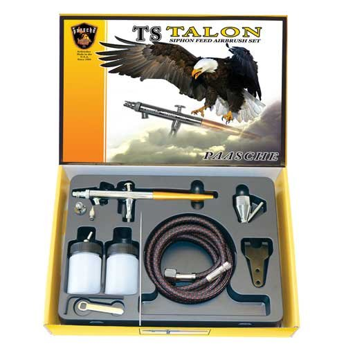 Paasche TS-Set Double Action Siphon Feed Airbrush by Paasche Airbrush
