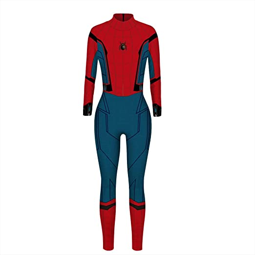 GWNJSSG Spiderman Disfraces Deluxe Basic Morphsuit Lycra ...