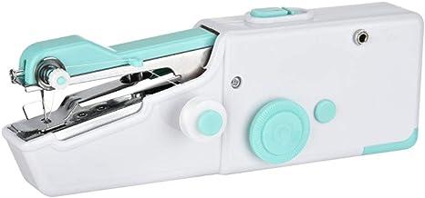 Opinión sobre Fikujap Mini máquina de Coser máquina de Coser de Mano de la máquina de Coser eléctrica Portable de Mano rápido práctico Adecuado para Ropa Tela de la Cortina del hogar y el Uso de Viaje