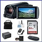 Canon VIXIA HF R800 Full HD Camcorder Bundle, includes: 64GB SDXC Memory Card