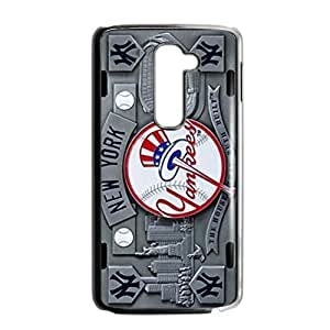 Hoomin Grey Baseball New York Yankees LG G2 Cell Phone Cases Cover Popular Gifts