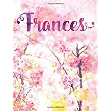 Frances: Personalized Journal - A Pink Cherry Blossom Diary