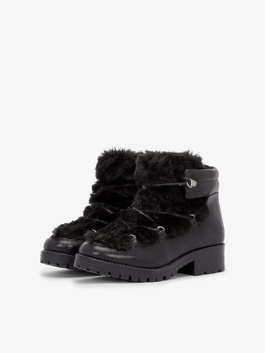Bianco Damen Fur Laced Up Stiefel Stiefel Stiefel Stiefeletten 770de1