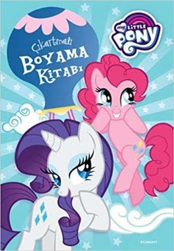 Amazon Com My Little Pony Cikartmali Boyama Kitabi