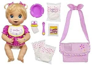 Amazon Com Hasbro Baby Alive Caucasian Doll With Bonus