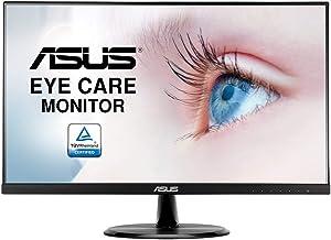 "ASUS VP249HE 23.8"" Monitor Full HD IPS HDMI VGA with Eye Care,BLACK"