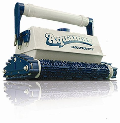 Commercial Carrier - Aqua Products AMX AquaMAX Robotic Commercial Pool Cleaner with UltraKart Junior Carrier