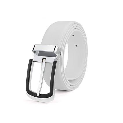 Dall Cinturones Cinturón De Cuero para Hombres Cinturón De Cuero Hebilla De  Metal Hombres 33 Mm 68a03cdc4337