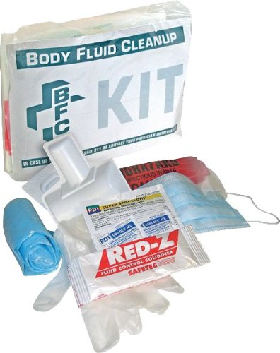 North by Honeywell Clear Poly Bag Body Fluid Clean by Honeywell