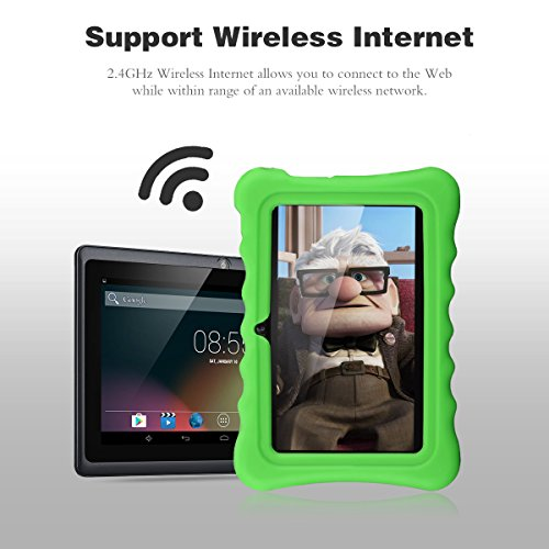 Ainol Q88 7 inch Eye-Protection Tablet with Adult Mode and Child Mode Android 8GB Education Tablet Gifts for Kids Sicicone Case Dual Camera WiFi External 3G by AINOL (Image #7)