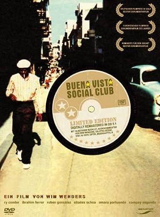 Buena Vista Social Club Limited Edition Deluxe Edition Deluxe Edition Amazon De Ry Cooder Ruben Gonzalez Compay Segundo Buena Vista Social Club Wim Wenders Ry Cooder Ruben Gonzalez Dvd Blu Ray