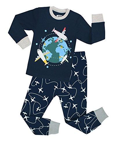 Airplane Pajamas Children Sleepwear Clothes product image