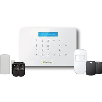 Techly I-ALARM-KIT001 Blanco sistema de alarma de seguridad ...
