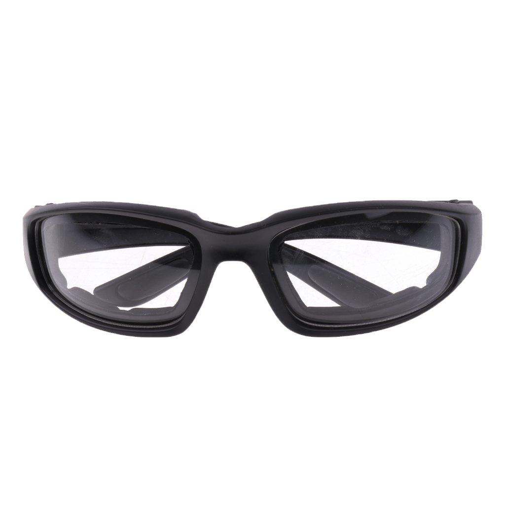 B Baosity 1 Pieza Gafas a Prueba de Viento Claras Gafas de Montar para Motocicletas y Deportes al Aire Libre