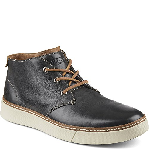 Sperry Top-Sider Men's Clipper Chukka Boot, Charcoal, 11.5 M US