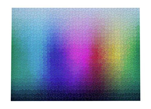 1000 Colors Jigsaw Puzzle CMYK Gradient Clemens Habicht