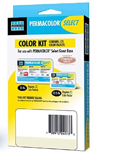 Permacolor SELECT Grout Color Kit (40+ Colors Available) (Twilight Blue) by PERMACOLOR