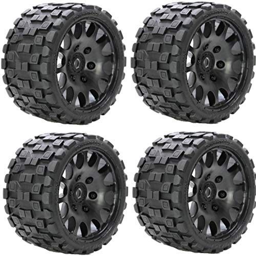 Powerhobby Scorpion Belted Monster Truck RC Tires/Wheels for sale  Delivered anywhere in USA