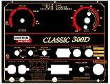 Lincoln Electric Arc Welder Pipeliner Classic 300D Aluminum Control Plate, L-10849-2